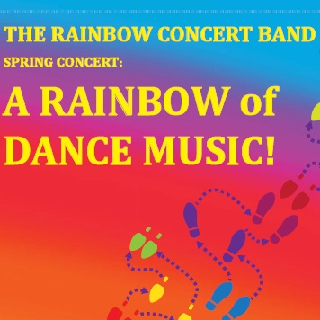 The Rainbow Concert Band presents: A Rainbow of Dance Music!