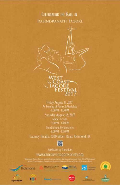 West Coast Tagore Festival 2017