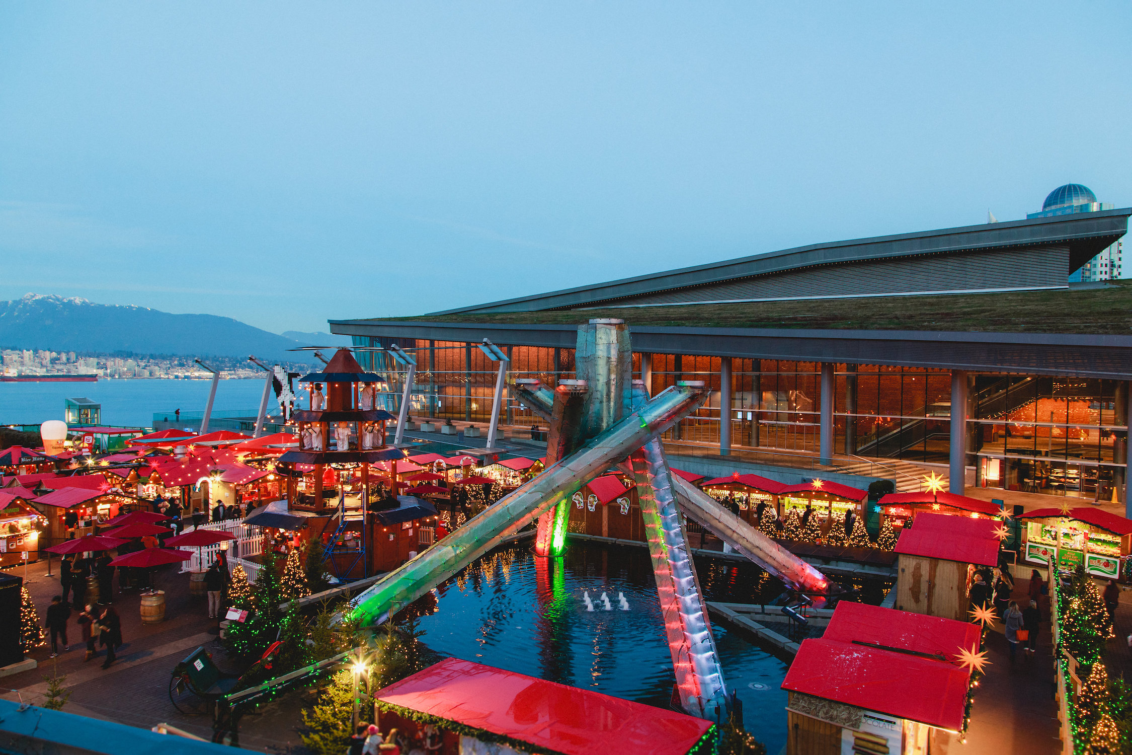 Vancouver Christmas Market—November 20-December 24, 2019
